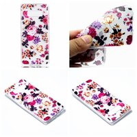 Wholesale Iphone Wholesale Europe - Flower Unicorn Lace Soft TPU Case For Galaxy Note 8 S8 Plus S7 (J7 J5 J3)2017 Europe Silicone Dreamcatcher Stripe Cartoon Back Cover Skin