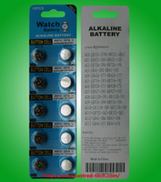 Wholesale Lr44 Button Cell Battery - AG13 LR44 A76 L1154 357 SR44 1.5V Alkaline Coin Button Cell Batteries Mercury free 2000packs Lot FedEx UPS free shipping
