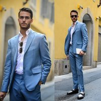 Wholesale Cheap Trimmers For Men - Handsome Wedding Mens Suits Bridegroom Cheap For Men Groomsmen Formal Business Custom Made Slim Fit Prom Suit