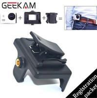 sjcam fall großhandel-Action Kamera Schnelle Clip Halterung Für SJCAM SJ4000 Wifi Sj4000 SJ6000 SJ7000 Sport Camrecorder Zubehör Schutzhülle 2016