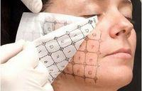 máquinas de rf para la cara al por mayor-2017 Nuevo Uso Facial Rejilla Papel Impreso para Máquina Thermage RF Thermage Papel Celosía 20pcs / lot