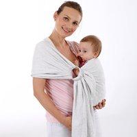 toallas de mujer caliente al por mayor-10 UNIDS / LOTE Estilo caliente el nuevo bebé correa de la toalla de nuevo multicolor de moda de Europa mujeres chal envuelto toalla 4 colores
