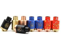 Wholesale Post Desk - TVL RDA Rebuildable Dripping Atomizers With 510 Thread 8 Colors 3 Post Desk PEEK Insulators Fit 510 Mods DHL ATB510