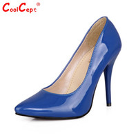 Wholesale Wedge Heel Shoes Size 32 - Size 32-44 Women Stiletto High Heel Shoes Pointed Toe Sexy Quality Brand Wedding Fashion Heeled Sexy Pumps Heels Shoes P16661
