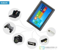 ingrosso kit pc da tavoletta-Tablet PC Q88 7 pollici Tablet PC Android 4 4 Kitkat 3000mAh Batteria WiFi Quad Core 1 5GHz DDR3 Googl 8GB A33 7 HD 1024x600 IPS Doppia fotocamera