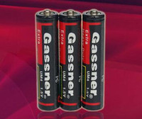 Wholesale Super Heavy Duty Batteries - HOT!! 1200pcs up, AAA R03P 1.5v Carbon zinc battery, Super heavy duty,ISO9001