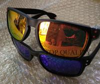 erkek bayan güneş gözlüğü toptan satış-2018 YENI Moda Polarize Güneş Erkekler Marka açık spor Gözlük Kadın Googles Güneş Gözlükleri UV400 ulculos 9102 bisiklet sunglasse