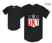 Wholesale unkut clothing - Long style unkut U logo t shirt hiphop skateboard tee shirts male free shipping fashion cotton hot sale clothes summer