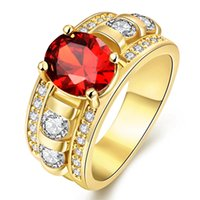Wholesale Pink Topaz Gold Rings - Mystic Topaz 925-Sterling-Silver Rainbow Topaz Jewelry 2016 Fashion Pink Sapphire Wedding Rings Sets China for Women Ulove Y3310