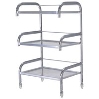 Rolling Trolley Cart 3 Tiers Hair Beauty Salon Organizador de equipamentos de armazenamento de spa