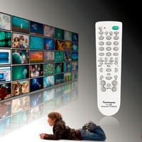 Wholesale portable tv sets - Wholesale-Portable Universal Portable Remote Controller Control for Television TV Set TV-139F Super Version Television Remote Control