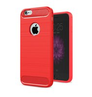 Custodia morbida in silicone per iPhone 6 in carbonio di lusso per iPhone 5s 5 6 7 cover posteriore completa custodia in silicone