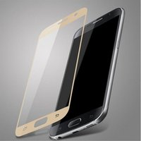 Wholesale galaxy s5 lcd protectors for sale - Group buy Explosion proof LCD Clear Tempered Glass Transparent Screen Protector Film Ultra thin For Samsung Galaxy S7 With Colors