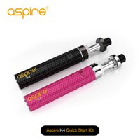 Wholesale Delivery Time - 2016 newest released original aspire k4 aspire quick start kit delivery time 2 days in stock wholesale available