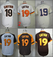 Wholesale Free San Francisco - san diego 19 tony gwynn 2015 Baseball Jersey Cheap Rugby Jerseys Authentic Stitched Free Shipping Size 48-56