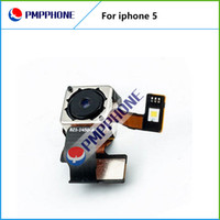 Wholesale Iphone Flash Repair - Original Repair Parts Back Rear Camera Cam With Flash Module Flex Cable Ribbon For iPhone 5 5G