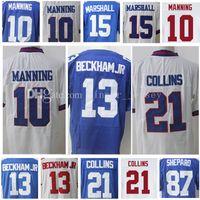 10 Eli Manning 13 Odell Beckham Jr Jersey 21 Landon Collins 15 Brandon  Marshall 87 Sterling Shepard Jerseys Embroidery and 100% Stitched ... 57fa2ebca