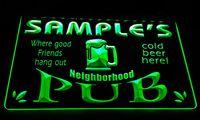 Wholesale Led Name Lights - LS587-g Name Personalized Neighborhood Home Bar Pub Beer Neon Light Sign.jpg
