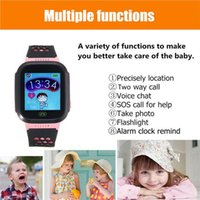 Écran tactile Q528 GPS Tracker WatchAnti-lost Enfants Enfants Smart watch LBS Tracker Wrist Watchs SOS Call For Android IOS DHL shipping