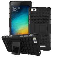 xiaomi tpu davası toptan satış-Hibrid TPU Zırh Silikon Hard Case Xiaomi Mi4S Mi4i Mi5 Redmi 3 S Pro Not 3 Pro Başbakan Arka Kapak Etki Tutucu Kılıf