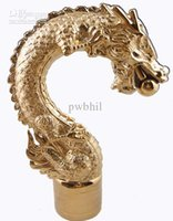 Brass Gold Color Plated Gold Dragon Faucet pia bacia de bacia animal