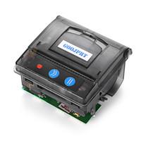 Wholesale Usb Rs232 Ttl - Original GOOJPRT QR203 58mm Mini Embedded Micro Receipt Thermal Printer RS232   TTL USB Panel Compatible with EML203 Black