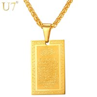 Wholesale Unique Gold Filled Plated Pendants - unique New Stainless Steel Men Chain Bible Pendant Necklace Trendy Simple 2016 Wholesale 18K Gold Plated G Letter Women Jewelty P818