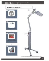 Wholesale Bio Light Led Machines - EU tax free PDT Skin Rejuvenation Photon LED BIO Light therapy skin tightening whitening acne treatment anti aging beauty lamp machine