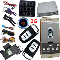 GSM Autoalarm Sicherheitssystem Mobile App Zentralverriegelung Keyless Entry Engine Start Stopptaste