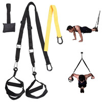Wholesale Home Workouts - Home Gym Suspension Resistance Strength Body Straps Workout Trainer