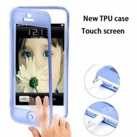 Transparent TPU Silikon klar Schlag-Fall-Abdeckung Touch-Screen-Fall für iphone 4/5/6 iphone 6Plus Samsung Anmerkung 4 Anmerkung 3 Samsung s5