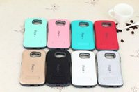 Candy Color Shockproof iFace KICKSTAND Case para SAMSUNG GALAXY S3 S4 S5 S6 S6 borda Plus Heave duty Hybrid Hard Case Cover
