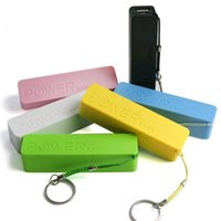 Wholesale 2600mah power bank online - 2600mAh Power Bank Charger Portable Perfume mah Mobile Phone USB PowerBank External Backup Battery Chargers for Samsung iPhone HTC MP3