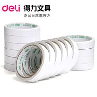 Wholesale Double Sided Cotton Adhesive Tape - Wholesale-Hot melt adhesive tape 1.8cm*10Y handmade cotton double-sided tape double-sided adhesive 1 Pcs