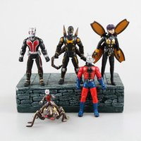 Wholesale 2015 New set Movie Ant Man Movable Action Figure PVC Antman Model Toys ANT03