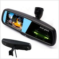 """Wholesale Monitor Auto Dimming - HD1080P 4.3"""" Special Car DVR Mirror Monitor with Original Bracket, Auto Dimming Rearview Car Mirror Parking monitor."""