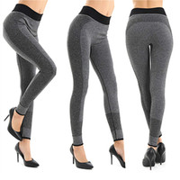 Wholesale Yoga Wholesalers - Women Fashion Tight Sportwear Nice Leggings High Elastic Thin Sports Yoga Pants Fitness Running Long Trousers Legging 2501033