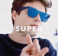 Wholesale Super Cats - cool Retrosuperfuture Tuttolente Flat Top Petrol Sunglasses Super Sunglasses -FND 55mm Unisex with box