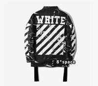 Wholesale Hip Hop Clothes Cheap - cheap off white jacket for men streetwear jaqueta masculina hip hop mens jackets and coats brand-clothing yeezus bomber jacket
