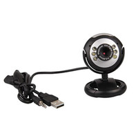 Barato Câmera De Webcam Pc Pc Usb-50.0M USB 2.0 Câmera de Vídeo LED 6 w / Mic para PC Laptop MSN
