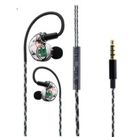 Wholesale High Definition Noise Cancelling - Ear-Bell In-Ear Earphones Headphones High Definition in-ear Earbuds Microphone Noise Isolating for iPhone iPod iPad MP3 Players Samsung Gala