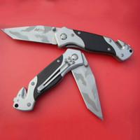 facas mtech venda por atacado-Top qualidade EUA MTech AT-2 faca de lâmina Folding Outdoor Camping Caminhadas Sobrevivência dobrar facas com pacote da caixa de papel de varejo