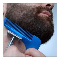 Wholesale quality mustache - High Quality Beard Modelling Tools Beard Bro Beard Shaping Tool Perfect Lines Hair Trimmer For Men Trim Template Hair Cut Gentleman Modellin