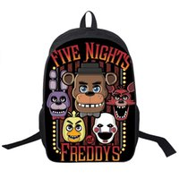 Wholesale Children S Backpack Cartoon - Five Nights At Freddy`s Backpack For Teenagers Girls Boys Children School Bags Five Nights At Freddys School Backpacks Chica Bag