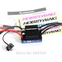 Wholesale 6v Esc - New HobbyWing SeaKing V3 60A BL Motor ESC 6V 2A BEC for RC R c Racing Boat motor button