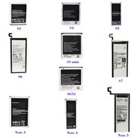 teléfonos celulares s4 al por mayor-Batería del teléfono celular para Samsung s3, s4, s5, s6, s7, Note2 3 4 5, s3 s4 mini, 5830,9070,9082, Z1 2, G850,9100, BA900,7508,9150, BA800 Batería de repuesto