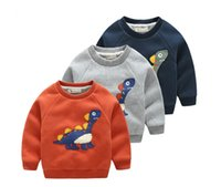 Wholesale Children S Animal Sweater Coats - Children 's clothing thickening sweater 2016 autumn and winter Korean version of the new children' s casual coat cute tops
