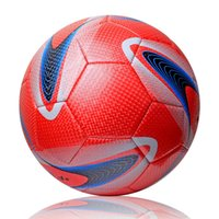 Wholesale Pvc Soccer Ball Football - New Arrival World Cup Classic Training Balls Football Ball Official Size 5 High Quality PVC Soccer Ball Machine Stitch Football