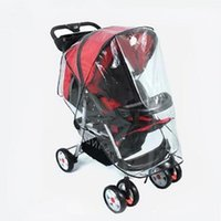 Wholesale Stroller Baby Price - Wholesale- factory price hot selling 2016 new fashion Universal Strollers Pushchairs Baby Carriage Waterproof Dust Rain Cover Windshield