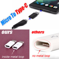 Wholesale Usb Male Female - High Quality Micro USB female to USB 3.1 Type-c male Cable Adapter Charge Data Sync Converter